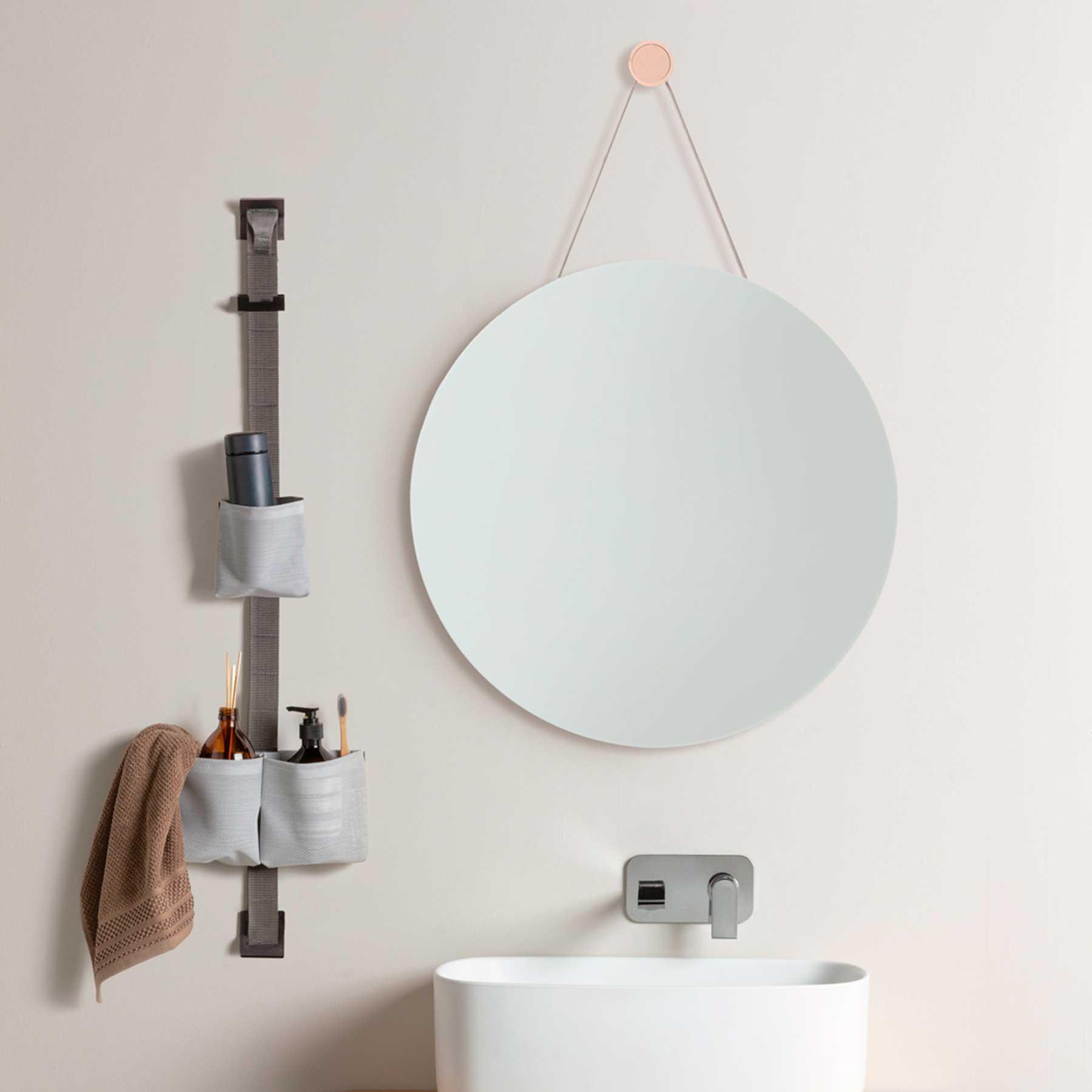 contenitore a parete per il bagno