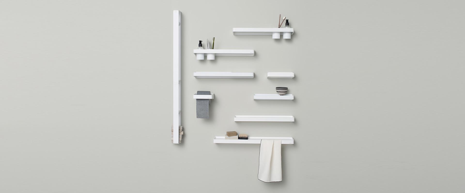 Multifunctional design shelf