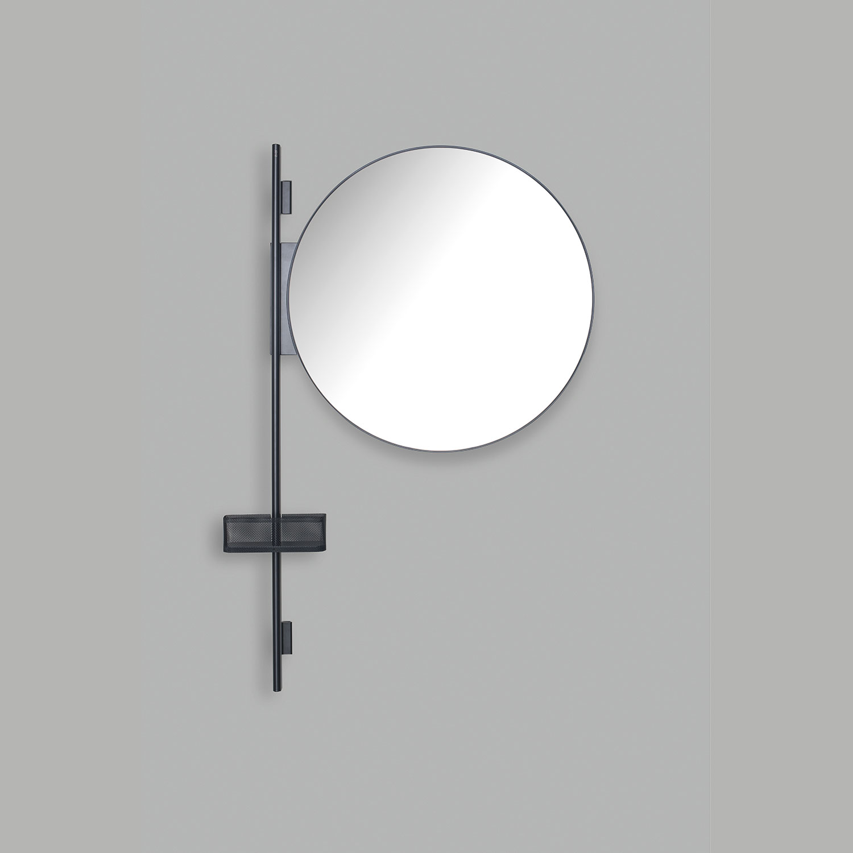 Sistema modulare Prop specchio tondo