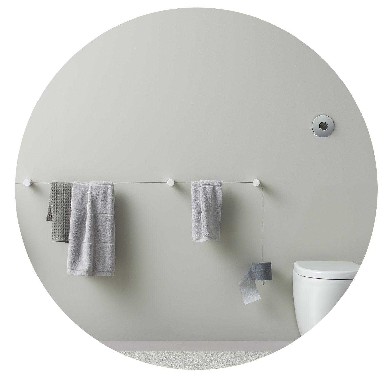 Accessori bagno a parete